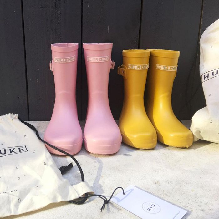 Hubble&Duke Gumboots yellow