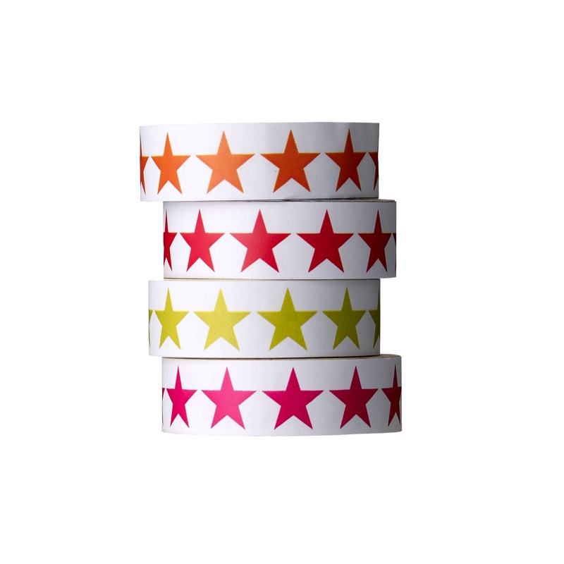 Star patterned tape