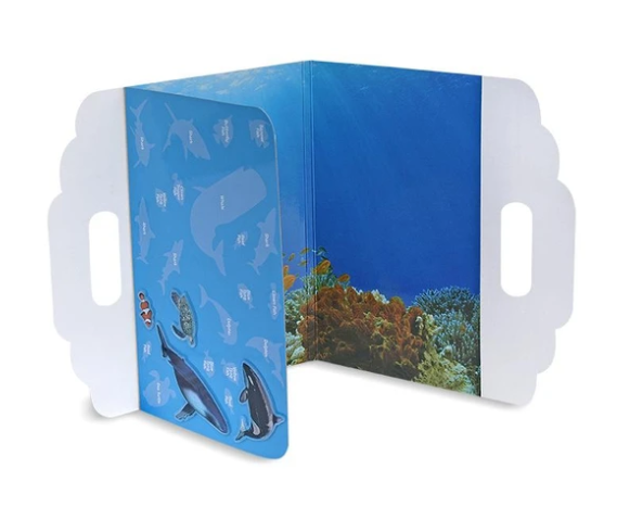 Under the Sea peel & play activity set