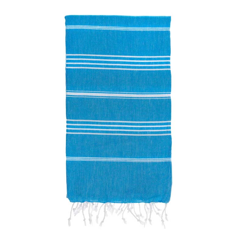 hammamas turkish towel - aqua kids