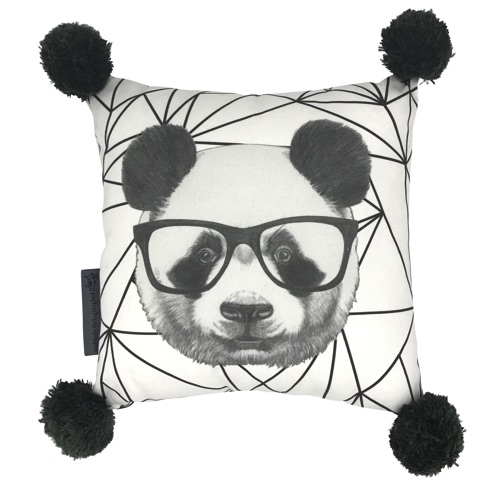 'percival panda' cushion