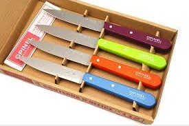 Opinel 4 Paring Knives