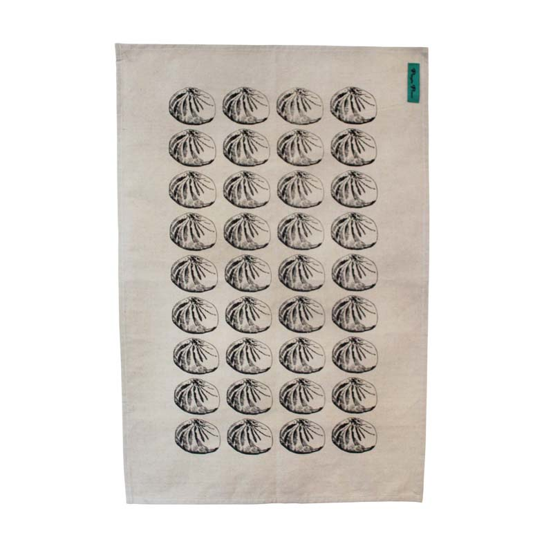 Baozi Black Tea Towel