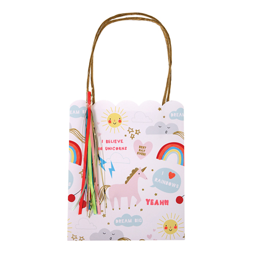 meri meri - unicorn & rainbow party bags