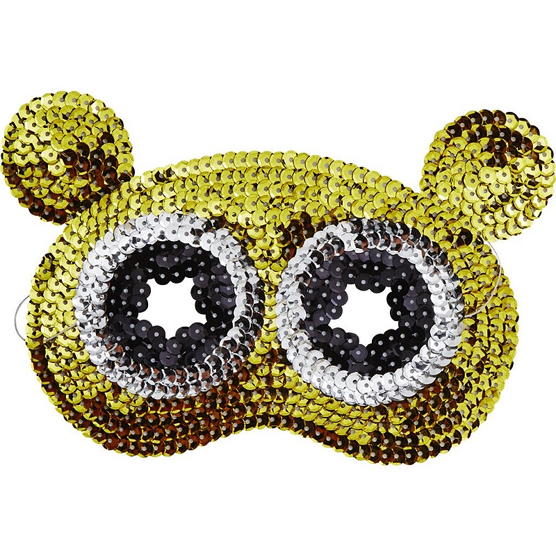 Kids Sequin Masks in 6 Assorted Designs