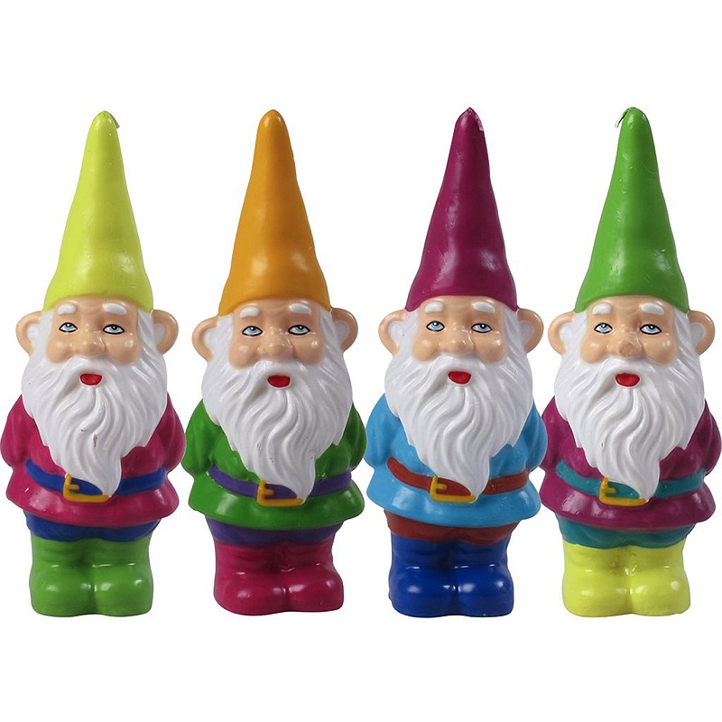 Mini Gnome Candles