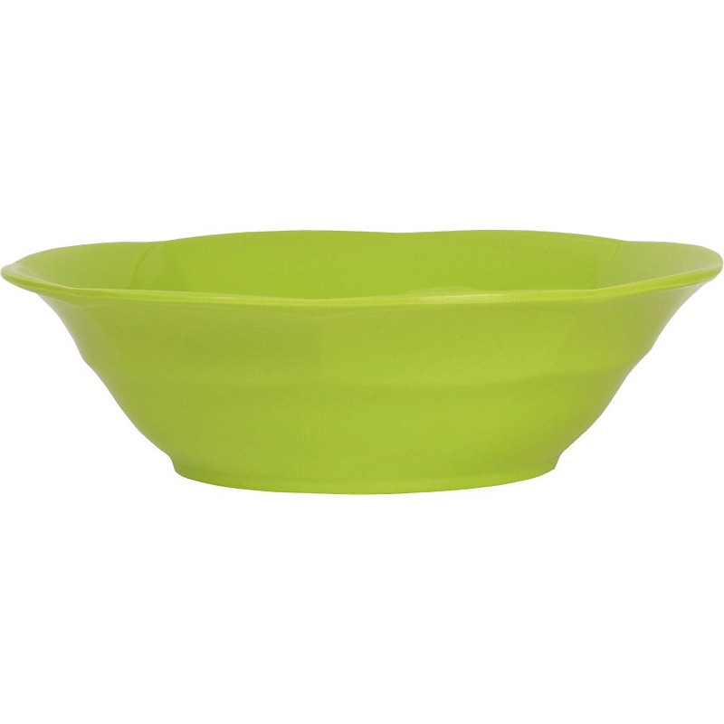 Melamine Soup Bowl in Green