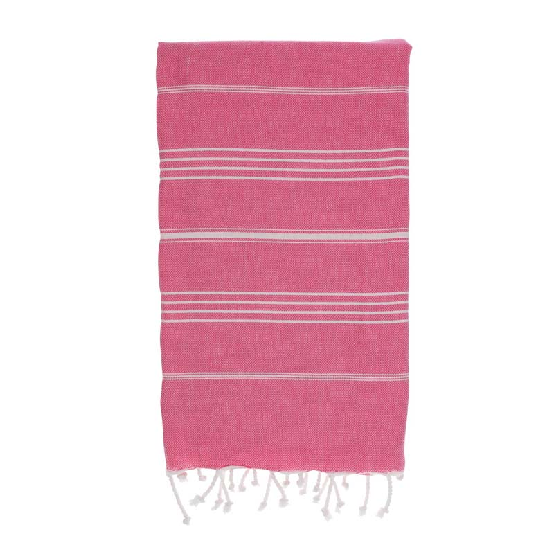 hammamas turkish towel - watermelon