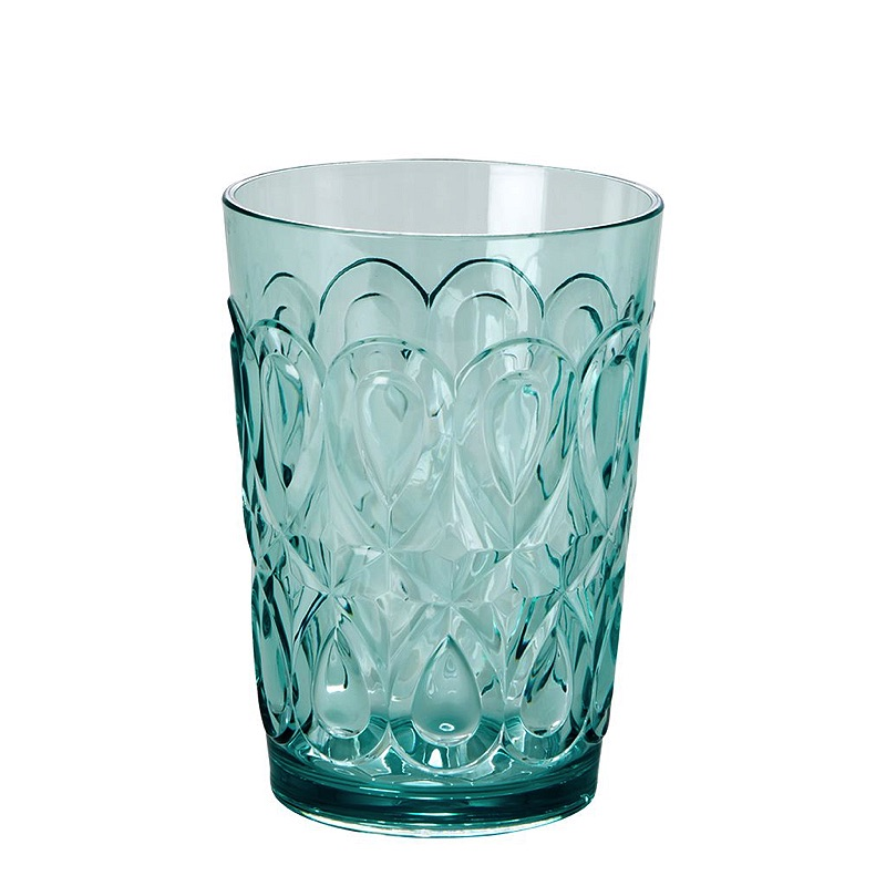 Swirly Embossed Tumbler Acrylic (MINT)