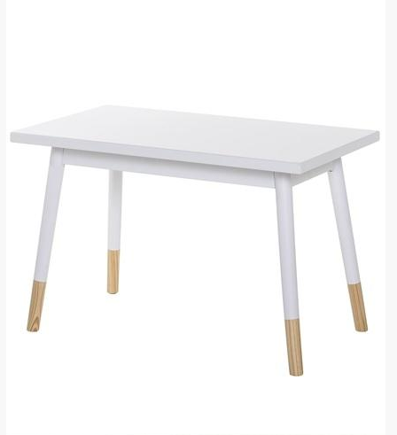 kids table white