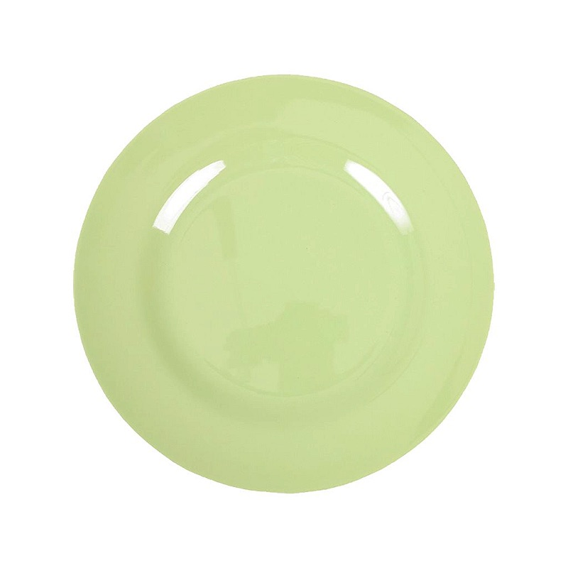 Melamine Round Side Plate in Mint