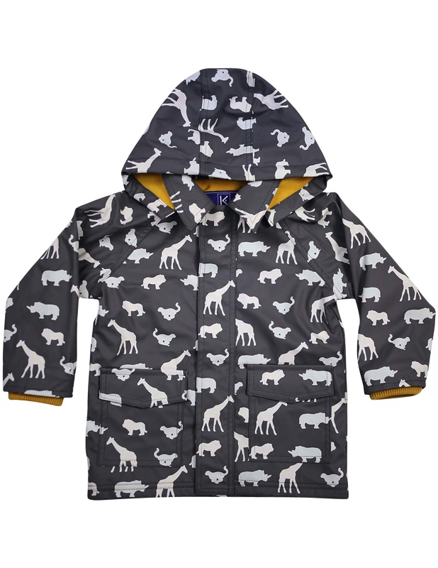 Safari colour changing raincoat