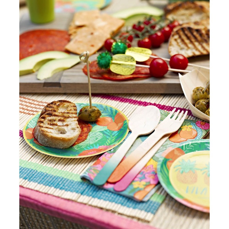 Tropical Fiesta Cutlery