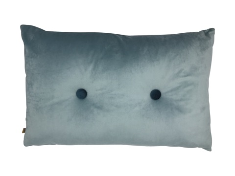 rectangle cushion - silver
