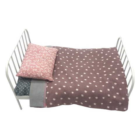metal doll bed - flora