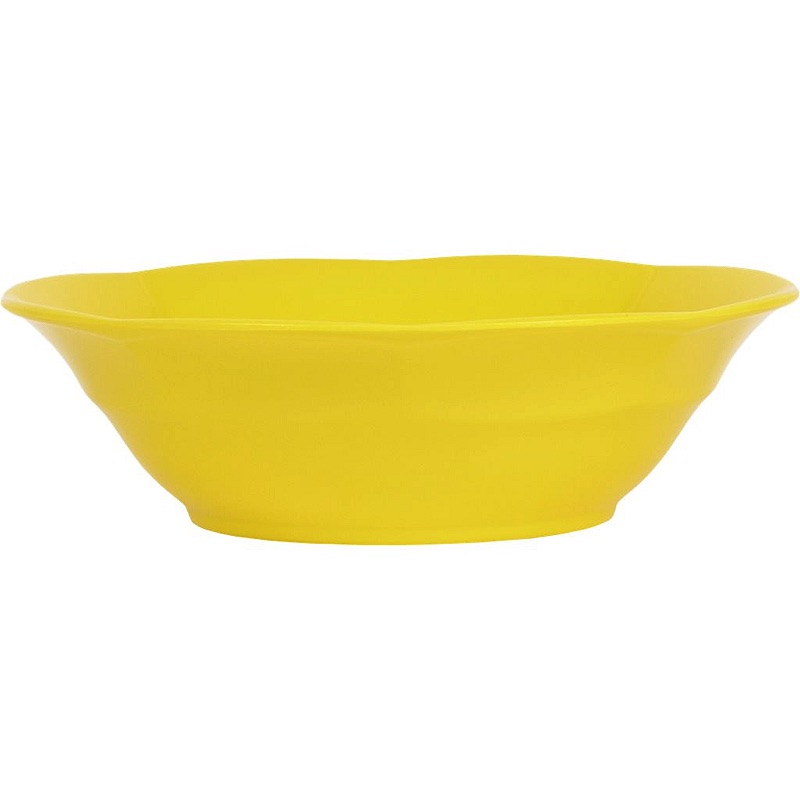 Melamine Soup Bowl in Yellow