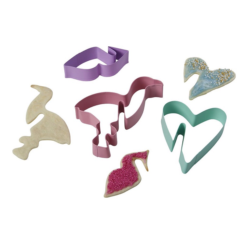 Cookie Cutters For Hanging Cookies in 3 Assorted Designs