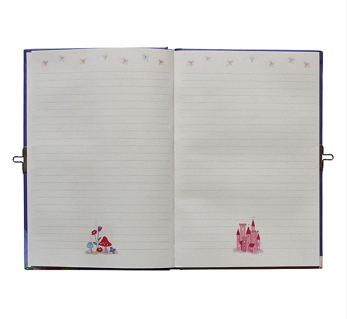 Lockable Diary - Unicorn Rainbows