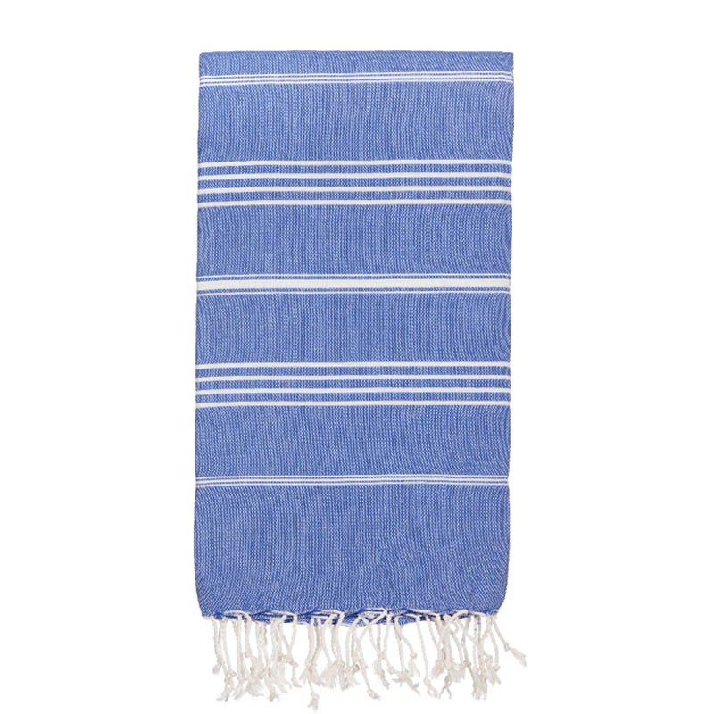 hammamas turkish towel - cornflower