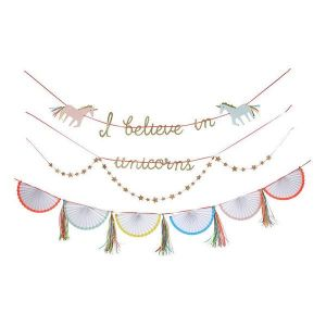 Meri meri - I Believe in Unicorns Garland