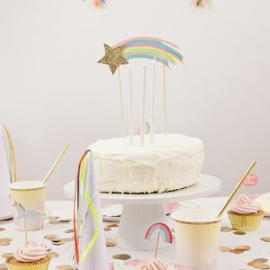 meri meri - shooting star cake topper