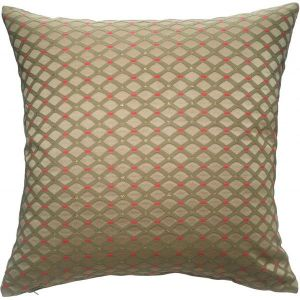 Bronze patterned cushion