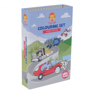 Colouring Sets - Cars & Trucks