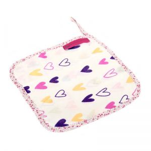 girls wash cloths - set of 3