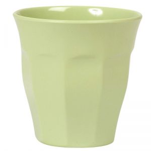 Solid Colored Medium Melamine Cup in Mint
