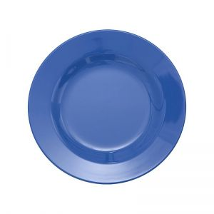 Melamine Round Side Plate in New Dusty Blue