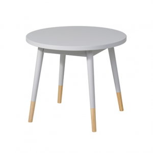 kids round grey table