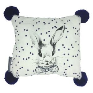 'benson' bunny cushion