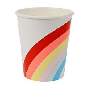 Meri meri - Rainbow Party cups