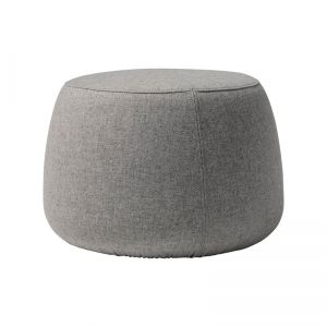 Sit Pouf  wool  light grey