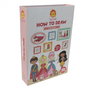How-to-Draw Set - For Girls