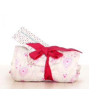 lotus muslin wrap - single pack