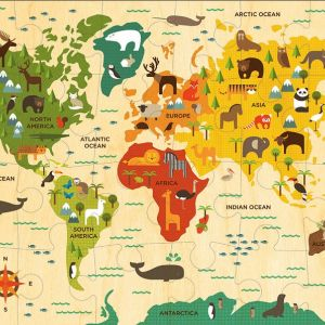 Petit Collage Floor Puzzles- Our World