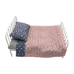 white metal doll bed - jemima