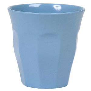 Solid Colored Medium Melamine Cup in Turquoise