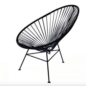 marquee chair - black