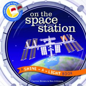 On the space station shine-a-light