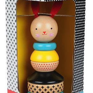Wooden Stacking Toy - Rabbit