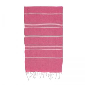 hammamas turkish towel - watermelon kids