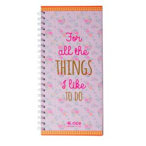 Big Wire-O To-Do Notebook